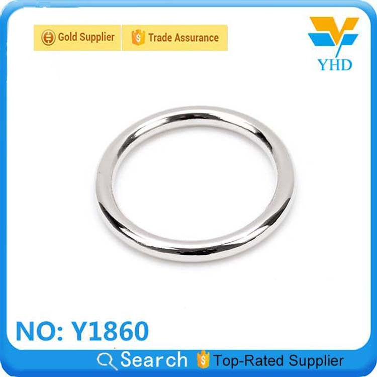 New product custom engraved spring ring metal accessories for handbags