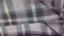 cotton woven yarn dyed plaid flannel fabric