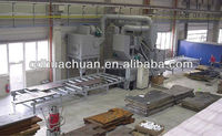 Industry Roller Conveyor Steel Plate Shot Blasting Machine