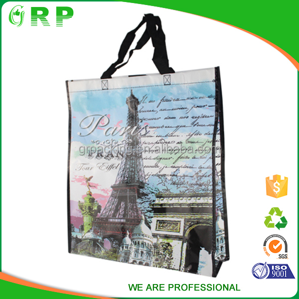 Small high quality custom OEM non woven recycled polypropylene bags