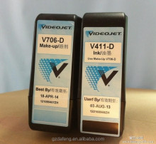 compatible cij printing ink and make up for videojet V401-D/V-410D/V411D/V701-D/V705-D/V706-D