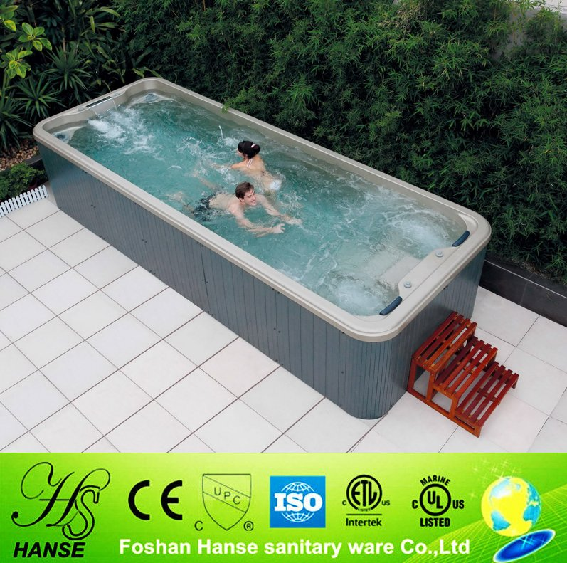 HS-S06B whirlpool spa luxury hot tub combo ready swimming pool