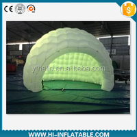 Best design decorative inflatable tent for exhibition