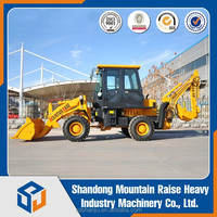 Agricultural WZ22-10 1200kg Mini Backhoe Loader for Sale