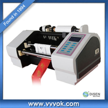 Hot foil ribbon printing machine