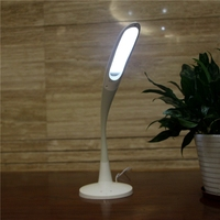 New arrival flexible arm touch sensor LED table lamp
