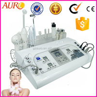 Portable laser skin spot removal cautery 7 in 1 machine with ultrasonic, spray, vaccum au-8208