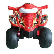 Plastic Children 6V Electric Ride On ATV Quad Outdoor Ride on Beach Car