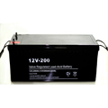 High cycle ocean 12v 200ah deep cycle solar gel battery for inverter
