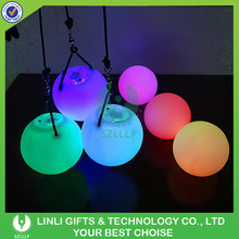 Custom Colorful LED Light Up Flashing Light Ball Toy For Kids As Gifts