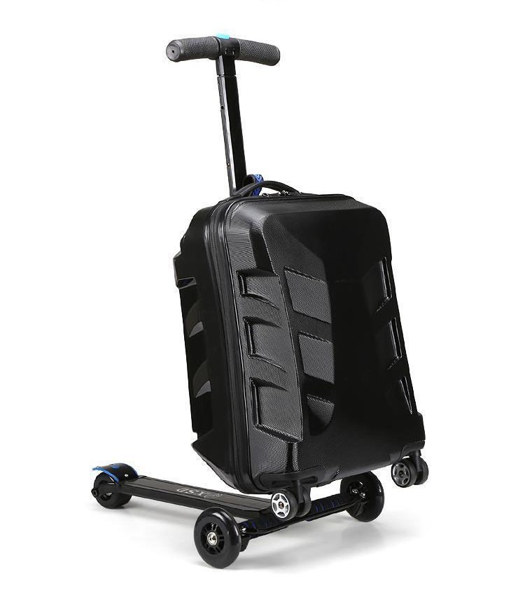 multi-function Alibaba china yiwu electric luggage scooter