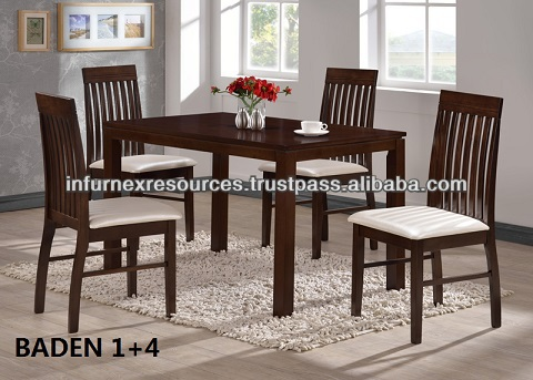 baden dining set, dining table and chairs,wooden furniture,living room set