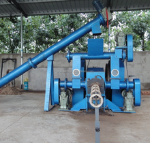 Widely Used Biomass Pellet/Log Making Machine Wood log extruder machine
