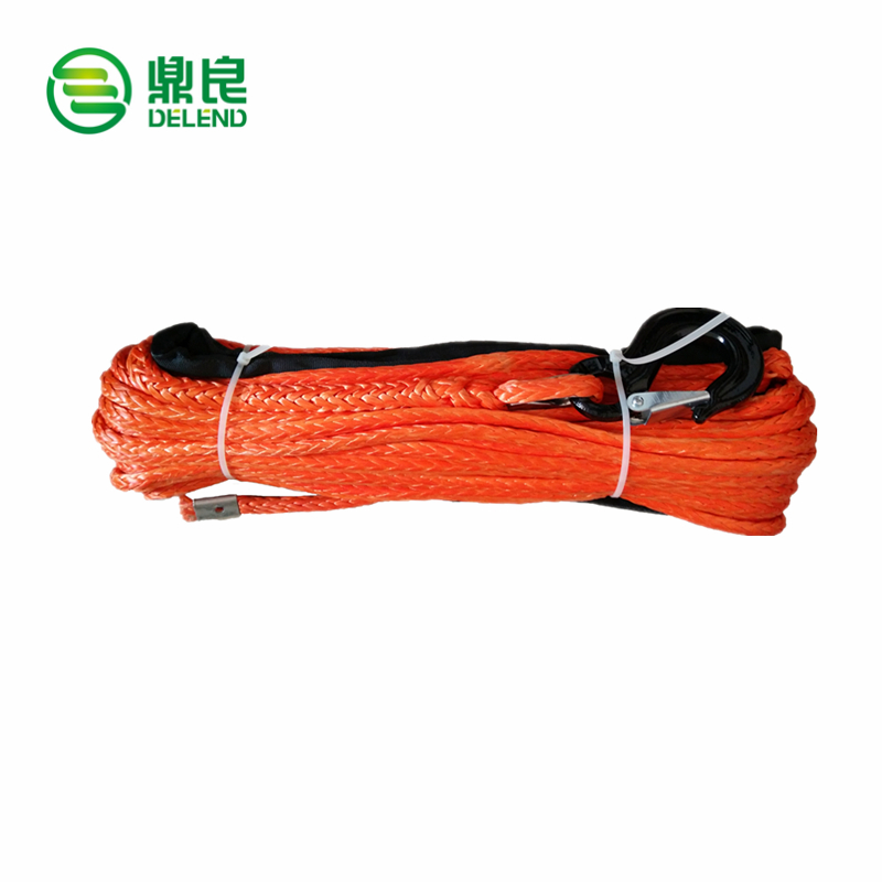 DELENDNEEMA LR Approved 12 Strand UHMWPE Winch Rope for 4*4 car