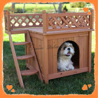 Fashion new design wooden custom cheap dog kennel outdoor