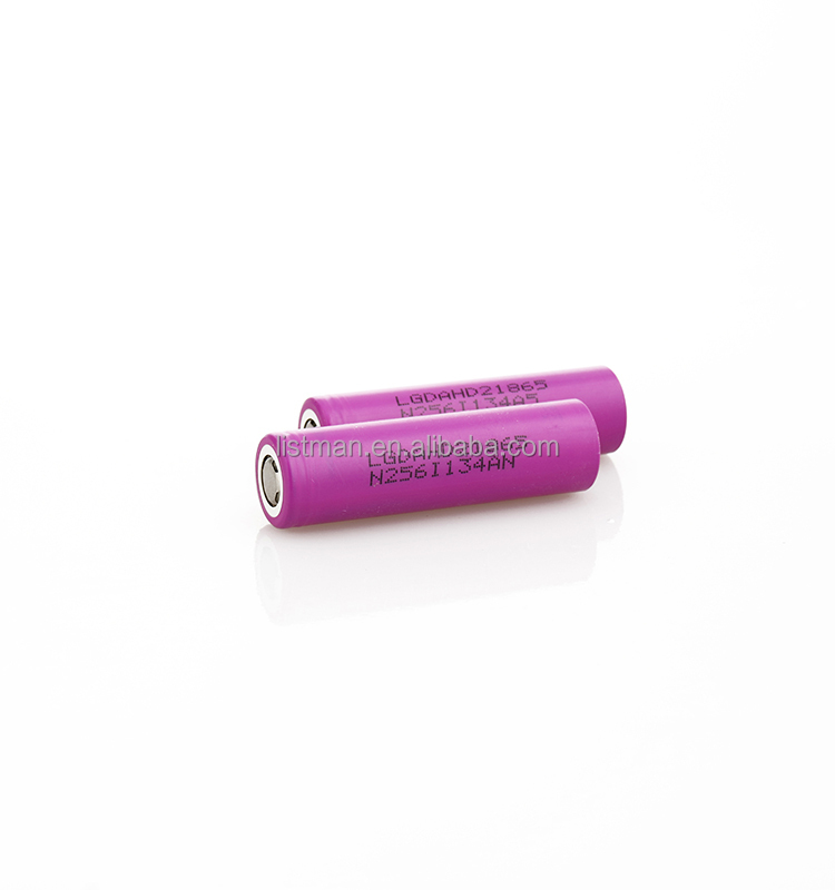 20A Discharge battery lg hd2 18650 2000mah battery 3.7v lg hd2 lithium-ion battery