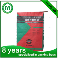 2016 High quality cement packing kraft paper bag