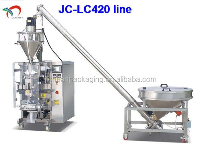 Pouch vertical milk powder packing machine JC-LC420
