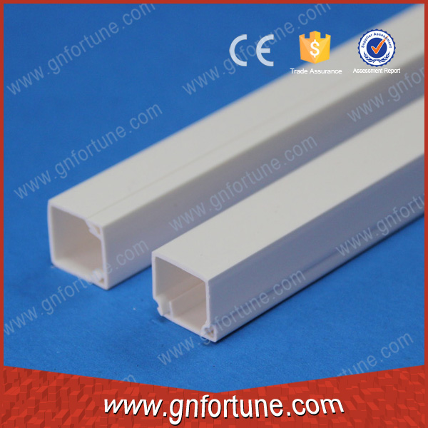 Good Bending White Electrical PVC Plastic Cable Channels