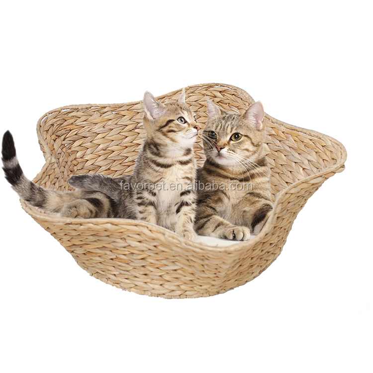 best sell cat bed cave ,wicker cat bunk bed