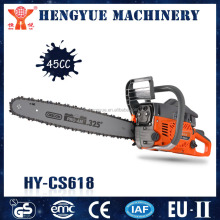 HY-CS618 45cc fuel efficient chainsaw for lopping