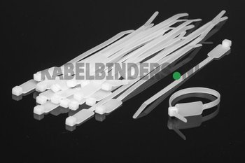kabelbinders met label identification cable ties. Black Bedroom Furniture Sets. Home Design Ideas