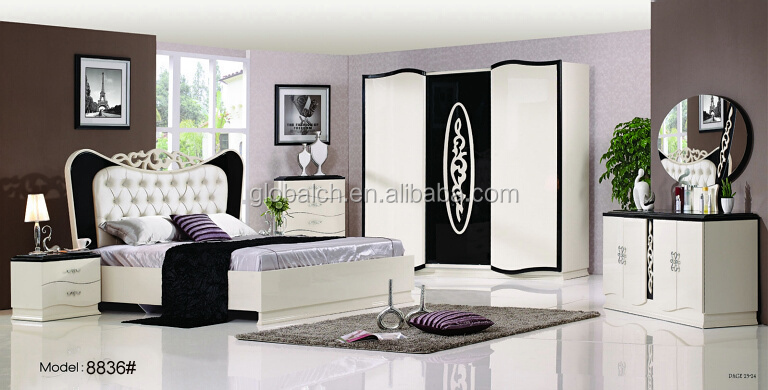 High Quality Latest Design Luxury Wood Bedroom Furniture