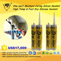 High-Temp Quick Drying Transparent Acetic Silicone Sealant