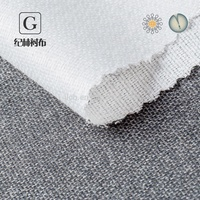 Chinese manufacturers cheapest 100 Polyester adhesive knitted interlining for Shirt placket
