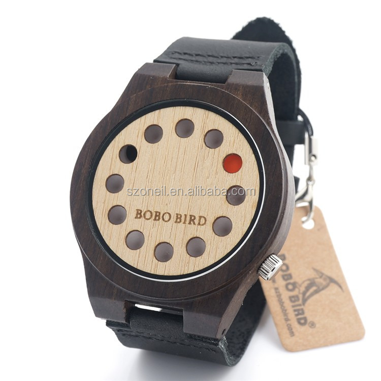 2017 China Watch Manufacturer Wholesale and Retail Watches Wooden Watch