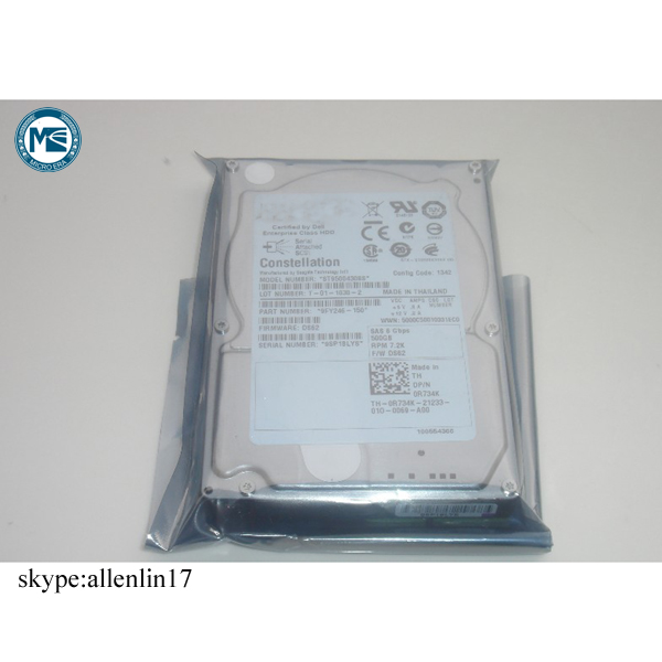 original for Dell ST9500430SS 500G 2.5 7.2K SAS server hard drive