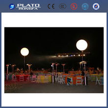 Christmas , party and wedding outdoor hanging led light stand balloon / decorative lighted balloon