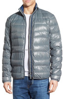 Packable Water Resistant Quilted Down Jacket For Mens Winter Clothing 2016