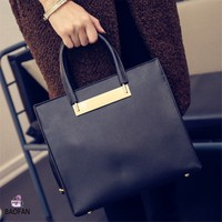 10 years anniversary promotion! Model no.B-651 2016 spring new design elegance leather women pu tote bag wholesale