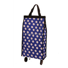 YY-24X02 foldable grocery shopping bag supermarket trolley