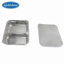 Disposable aluminum alu food packing container