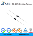 DO-204AL 600V 1A SF18 axial super fast recovery rectifier diode