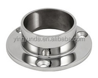 handrail fitting round handrail base plate fence post base plate