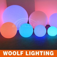 glowing LED ball/Multi-color Luminous floating waterproof led light ball