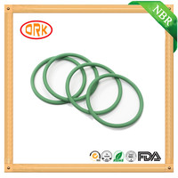 Oil Resistance Green NBR Rubber O Ring Seals