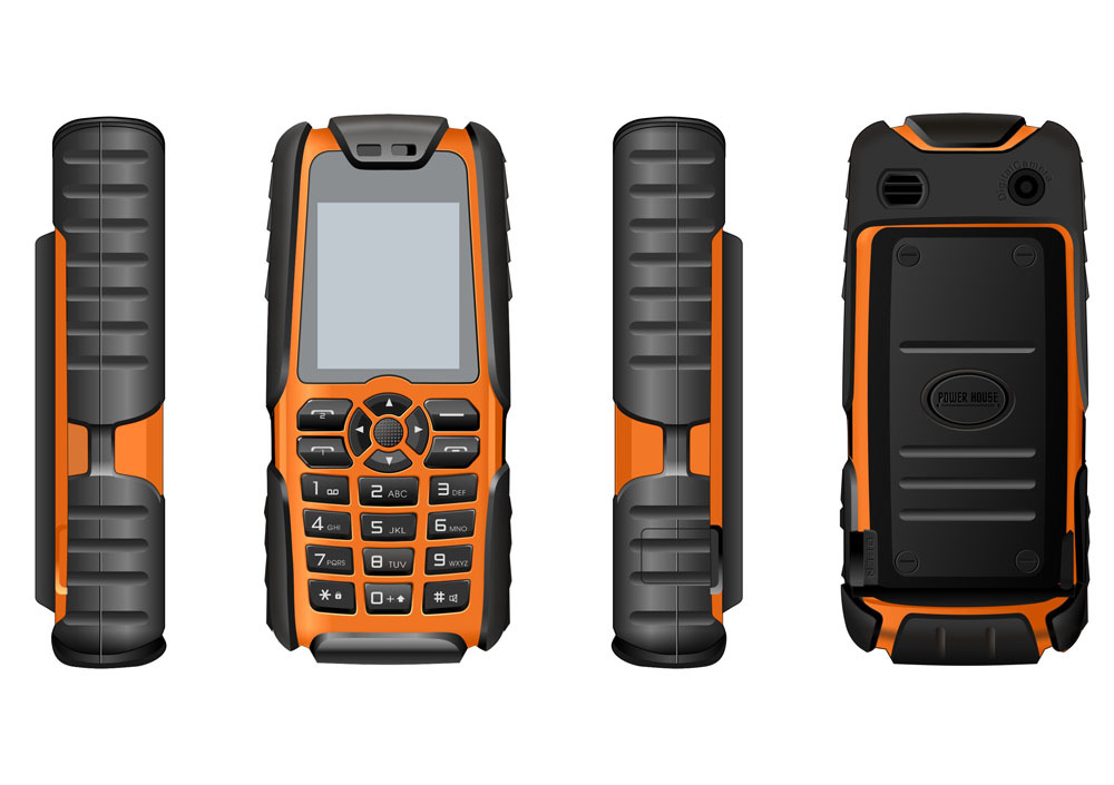 Cheapest 1.77 inch Ruggedized phone with ruggedized feature phone shake proof phone