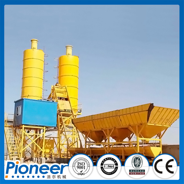 Hot Sale Low Cost HZS25 Concrete Batching Plant Selling in Russia