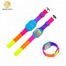 2018 Fashion Silicone Brand Digital Sport Watch For Kids