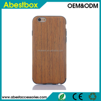 Wood grain Tree design silicone cover case for iphone 6s soft back cover