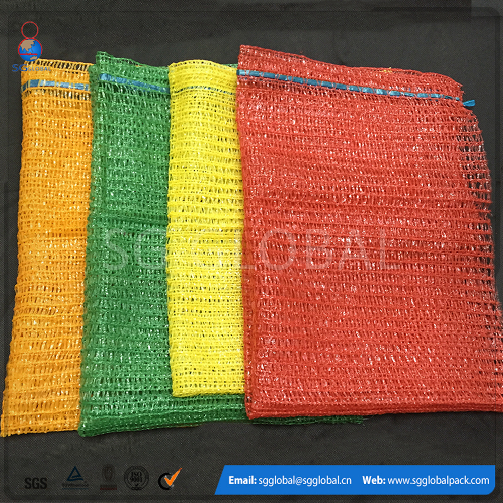 1kg mesh fruit packaging produce bags for garlic