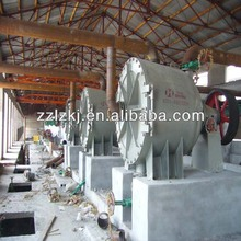 pulp fiber plant used in paper making factory