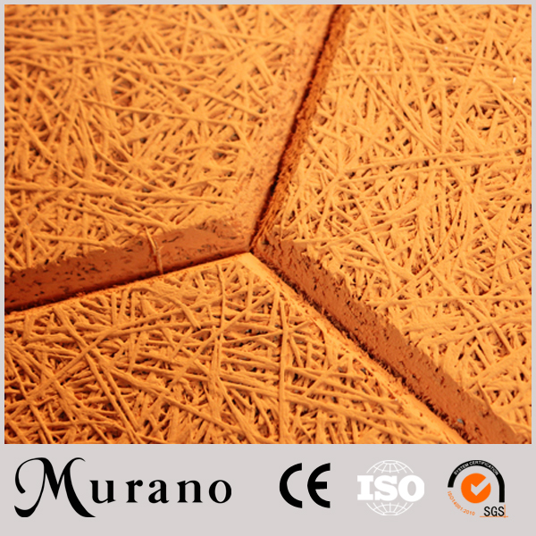Wood wool hexagon wood cement board for residential
