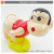 New trend cartoon battery operated soap bubble machine toy for kids