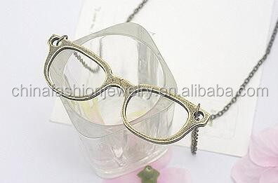 HSYN2914 Latest New Design Antique Eyeglasses Necklace