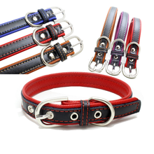 Hot Sale Comfortable Genuine Leather Pet Collar And Leash High Quality